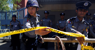 الشرطة البورمية