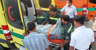مصرع سيدة وإصابة زوجها فى انفجار أسطوانة بوتاجاز داخل منزلهما ببنى سويف