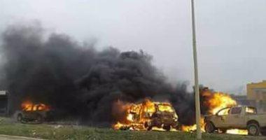 ارتفاع عدد ضحايا تفجير انتحارى فى بنغازى إلى قتيل و55 مصابا
