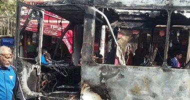 السيطرة على حريق أتوبيس رحلات دون إصابات بشبرا الخيمة
