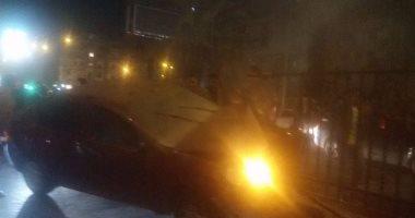 إصابة مستشار بمجلس الدولة نتيجة لحادث اصطدام بطريق إسكندرية الصحراوى
