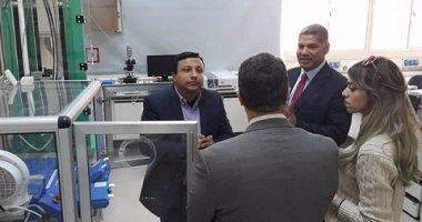 جامعة الفيوم تستضيف مدير معهد المياه بجنيف