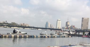 بالصور.. قوات الإنقاذ النهرى تجرى بيانات عملية بالنيل فى اليوم العالمى للحماية المدنية