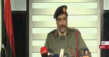 المتحدث باسم الجيش الليبى: يجب تصنيف حادثة براك الشاطئ كجريمة حرب