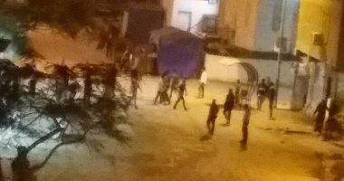 معركة بالأسلحة النارية بين عائلتين بمنطقة حدائق القبة