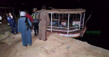 الإنقاذ النهرى يتمكن من إنتشال جثة شاب من النيل بسوهاج بعد قفزه بقصد اللهو مع خطيبته من أعلى عائمة سياحية