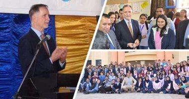مديرة فولبرايت الأمريكية: المنح للطلاب المصريين زادت بنسبة 130 %