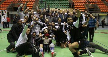 طلائع الجيش يتوج بلقب كأس مصر للطائرة على حساب الزمالك