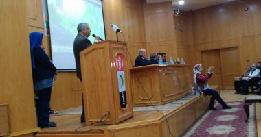 انطلاق الدورة التدريبة عن بنك المعرفة المصرى بجامعة الفيوم