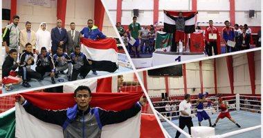 مصر تسيطر على ذهبيات البطولة العربية للملاكمة