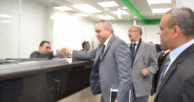 افتتاح مكتب بريد العباسية بعد تطويره وتحويله إلى مركز خدمات متكامل