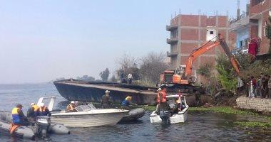 الرى: إزالة 49 ألفا و274 حالة تعدٍ على النيل