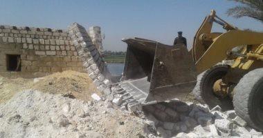 الداخلية تؤمن تنفيذ 31 قرار إزالة تعديات على نهر النيل والزراعات