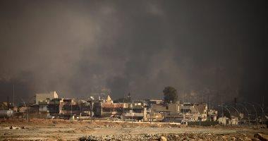الطيران الحربى العراقى يقصف مواقع لتنظيم داعش فى الموصل