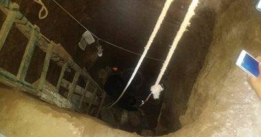 والد طفلة يقوم بذبح إبنته لتقديمها قرباناً لفتح مقبرة فرعونية بدارالسلام ، سوهاج