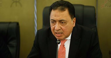 """بالصور.. وزير الصحة: """"مجانية عبد الناصر وراء تدهور المنظومة الصحية"""""""