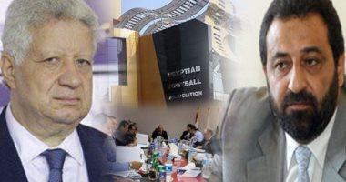 أسبقية الحديث بين مرتضي منصور وعبدالغنى تثير أزمة باجتماع الوزير مع الأندية
