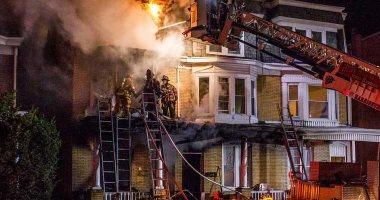 السيطرة على حريق أعلى سطح منزل بالمحلة دون حدوث إصابات