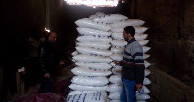 ضبط مصنعين غير مرخصين وسكر تموينى مهرب بحملة تموينية بشبرا الخيمة