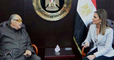 وزيرة الاستثمار والتعاون الدولى تبحث مع صالح كامل زيادة استثماراته فى مصر