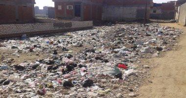 القمامة وأسوار مهدمة تحيط باستراحة تنشيط السياحة بالوادى الجديد