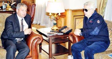 جلسة بين مرتضى منصور ووزير الرياضة واللجنة الأوليمبية
