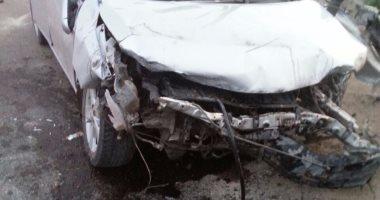 وفاة شخص وإصابة 2 آخرين فى حادث اصطدام توكتوك بسيارة بقرية المدمر مركز طما سوهاج