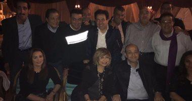 بالصور.. أول ظهور لـ «عمرو أديب» بعد تعرضه لوعكة صحية