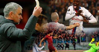 اكتمال عقد أندية ربع نهائى يوروباليج بتأهل مانشستر وخروج روما