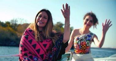 """بالفيديو والصور.. ليلى علوى تروج للسياحة المصرية بفيلم """"سيدة النيل"""" العالمى"""