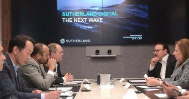 وزير الاتصالات يتفق على توقيع بروتوكول تعاون لتصنيع العدادات الذكية بمصر