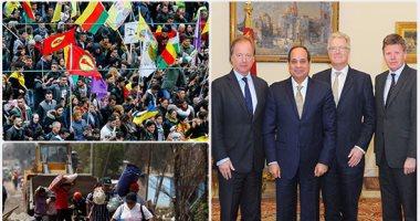 10 صور تلخص أحداث العالم ليوم السبت