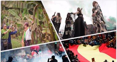 10 صور تلخص أحداث العالم ليوم الأحد