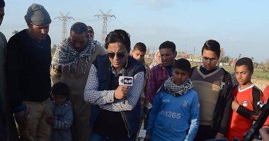 """أحمد رجب فى رحلة داخل مقابر الفيوم بـ""""مهمة خاصة"""""""