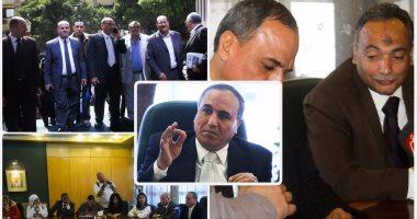 """أول يوم لـ """"نقيب لم الشمل"""" بنقابة الصحفيين"""