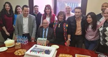 """""""راديو النيل"""" يحتفل بعيد ميلاد ماهر عبد العزيز رئيس مجلس الإدارة"""