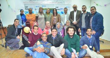 مسابقة مختبر الشهرة فى جامعة السويس لتشجيع شباب العلماء