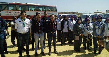 انطلاق الفوج الطلابى الثامن من شباب الجامعات لزيارة مشروع جبل الجلالة