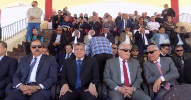 بالصور والفيديو..محافظ جنوب سيناء: مكافأة مالية للفرق المشاركة باحتفالات اعياد المحافظة