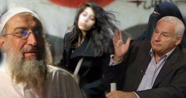 """مليونية """"خلع الحجاب"""" تعود من جديد.. فتوى جديدة لـ""""ياسر برهامى""""يصف الداعى لها بالكافر.. وشريف الشوباشى يرد: سامحك الله ودعوتى من أجل الفضيلة وإعادة الزمن الجديد وأغلب سيدات وبنات مصر ضدك"""