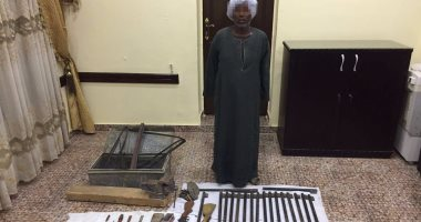 الأمن العام يضبط ورشة لتصنيع السلاح فى قنا