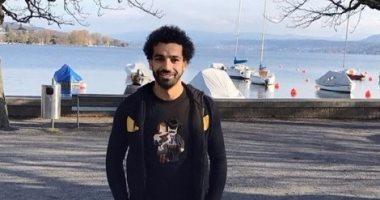 محمد صلاح يستجم فى سويسرا قبل الانضمام لمعسكر الفراعنة