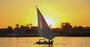 نهر النيل بالأقصر منبع الخيرات وسحر الجمال الطبيعى