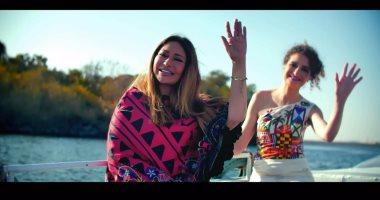 """بالفيديو.. الثقافى للتراث العربى بفرنسا يلقب ليلى علوى بـ""""سيدة النيل"""""""