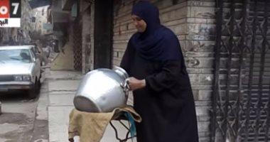 """بالفيديو.. """"بائعة فول"""" فى عيد الأم: """"مش عايزة أى حاجة غير شغل لعيالى"""""""