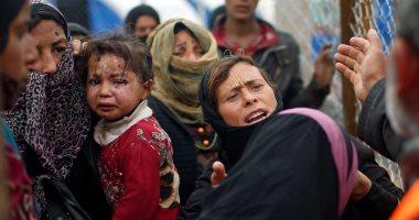 المرصد السورى: نزوح 60 ألف مدنى جراء العدوان التركى على شمال شرق البلاد