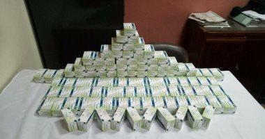 مباحث ساقلتة تضبط 1000 قرص مخدر و18 لفافة بانجو بحوزة 3 عمال بقصد الاتجار