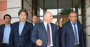 رئيس الكاف يحضر قرعة دورى أبطال أفريقيا