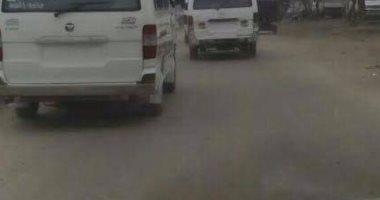 صحافة مواطن.. قارئ يرسل صورا لسيارات أجرة تسير بعين شمس بدون لوحات معدنية