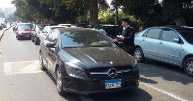مدير المرور يتفقد الطرق السريعة ويوجه بتكثيف الحملات